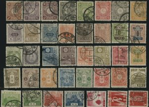 JAPAN Stamps Postage ASIA Collection Used