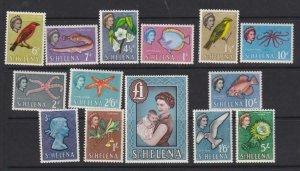 St Helena 1961 SC 159-172 MLH