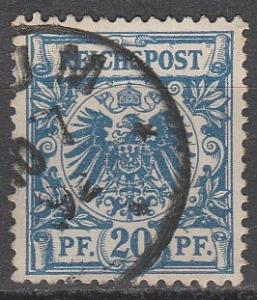 Germany #49  F-VF Used  (S7493)
