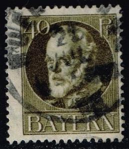 Germany-Bavaria #105 King Ludwig III; Used (2.00)