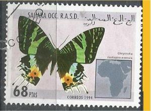 SAHARA, 1994, CTO 68p Butterfkies Scott Cinderella