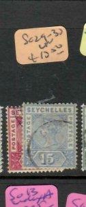 SEYCHELLES  (P2605B)  QV  SG  29-30        VFU