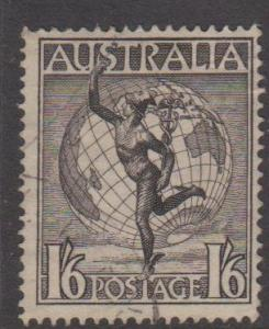 Australia Sc#C6 Used Sideways Watermark