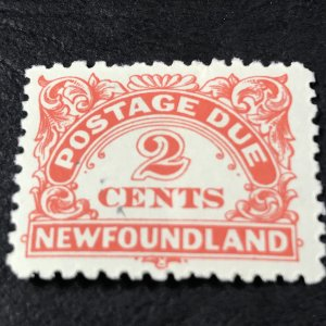 NEW FOUNDLAND # J2-MINT NEVER/HINGED------POSTAGE DUE--1939-49