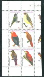 Netherlands Antilles 2010 Sc 1265 Birds CV $18.50