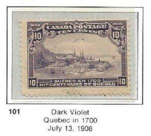 Canada 101 OG CV$150