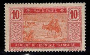 Mauritania Scott 23 MH* stamp