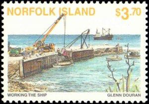 Norfolk Islands #606-609, Complete Set(4), 1996, Never Hinged