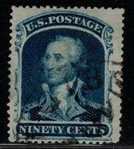 USA - 1857- George Washington - N. di catalogo Unificato (2017/18) 20