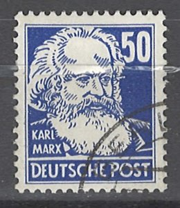 COLLECTION LOT # 3691 GERMANY DDR  #132  WMK297  1953   CV+$17.50