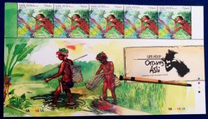Malaysia Scott # 1324-6 Life of Aboriginal People Orang Asli Stamps Set MNH