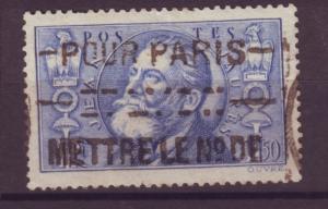J15210 JLstamps 1936 france hv of set used #314 jaures