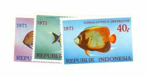 Indonesia Scott 810-812 NH    [ID#428329]