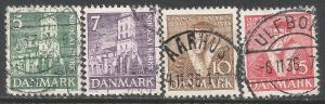 DENMARK 252-255 VFU P277-1