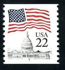 #2115c Flag over Capitol - MNH