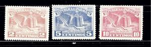 Paraguay 467-69 MLH 1952 partial set