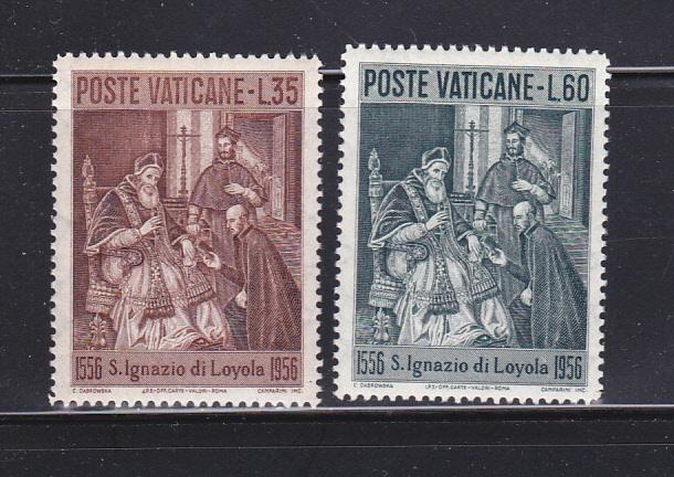 Vatican 212-213 Set MNH Pope Paul III