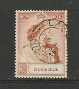 Nigeria 1948 Wedding 5/- Used SG 63