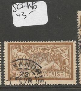 French Alexandria SC 27 VFU (5cpp)