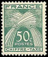 France - J71 - MNH - (Penciled Back) - SCV-0.25