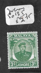 MALAYA JOHORE  (P0107B)  3C  SG 135  MOG