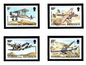 Ascension 309-12 MNH 1982 Airplanes
