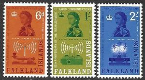 Falkland Islands #143-145 MNH Full Set of 3