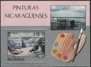 Nicaragua #1173 MNH Souvenir Sheet