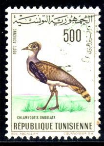 Tunisia #C32, postally used airmail (Bird)