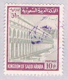 Saudi Arabia 502 Used Mecca mosque 1968 (BP3167)