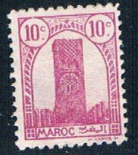 French Morocco 178 MLH Tower of Hassan 1943 (F0115)+