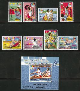 ROMANIA Scott 3749-57 MNH** 1992 Barcelona Olympics set