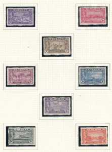 BAHAMAS # 132-147 VF-MLH KGV1 ISSUES TO  £1 CAT VALUE $84.95