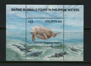 Philippines 2543 MNH S/S CV$4.50 Dugong