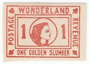 (I.B) Cinderella Collection : Wonderland (Golden Slumber)
