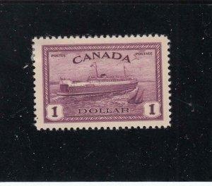 CANADA LOT KSG43 # 273 VF-MH PEI FERRY BOAT CAT VALUE $55