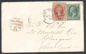 Scott 158, 178, New-York, to Scotland, New York