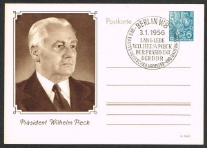 Germany DDR Postal Card Michel P67