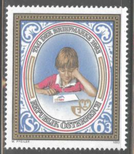 Austria Osterreich Scott B347  MNH** semi-postal stamp