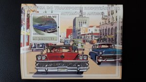 Cars - Old - History 3 - Mozambique 2009 - Bl ** MNH