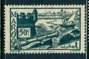 French Morocco 1945: Sc. # 200; O/Used Single Stamp