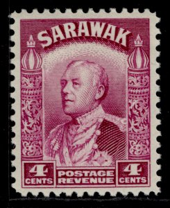 SARAWAK GV SG109, 4c bright purple, M MINT.