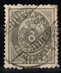 Iceland #10 F-VF Used CV $35.00 (X1467)