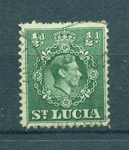 St. Lucia sc# 110 used cat value $.25