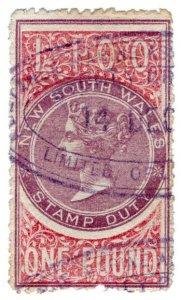 (I.B) Australia - NSW Revenue : Stamp Duty £1