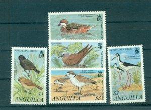 Anguilla - Sc# 1053-7. 2001 Birds. MNH $14.00.