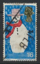 Great Britain SG SG 714  poor Used -  Christmas