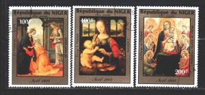 Niger. 1984. 912-14. Christmas. USED.