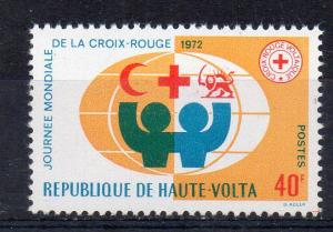 UPPER VOLTA - 1972 - RED CROSS DAY -