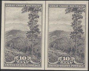 765 Mint,NGAI,NH... Vertical Line Pair... SCV $10.50